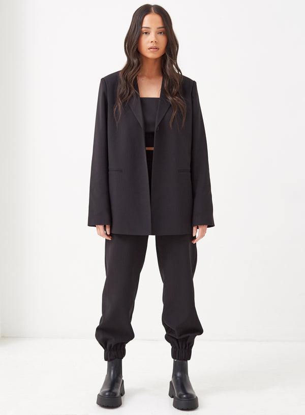 Aiden Oversized Blazer Black