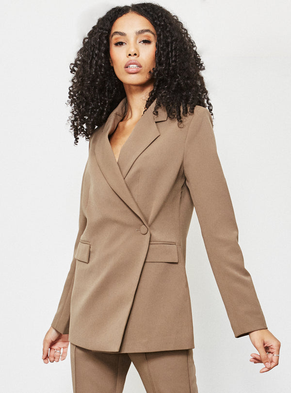 Apollo Asymmetric Blazer Mole