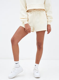 Eden Sweatshort Cream