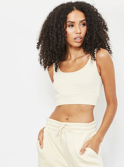 Henry Crop Top Nude