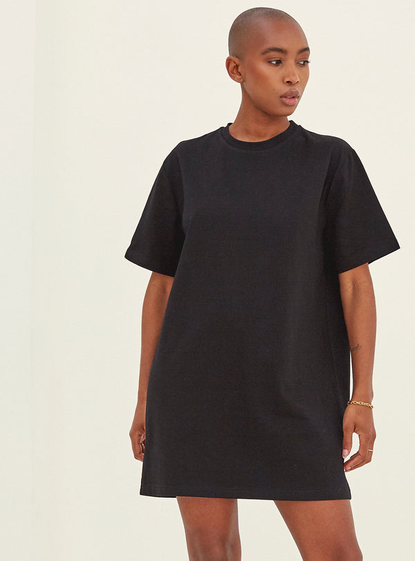 Julia Oversized T-Shirt Black