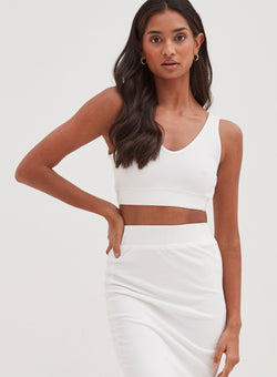Koda Top White