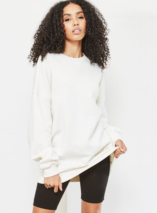 Natalia Oversized Sweatshirt Cream