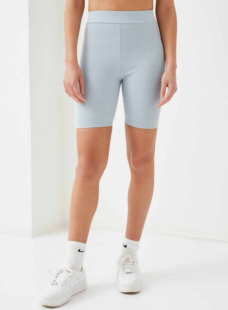Ayres Ribbed Cycling Short Blue