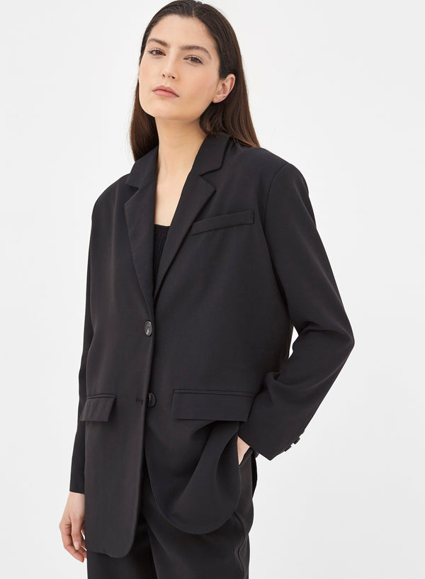 Colette Oversized Tailored Blazer Black