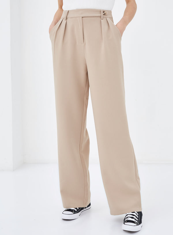 Colette Tailored Pants Beige