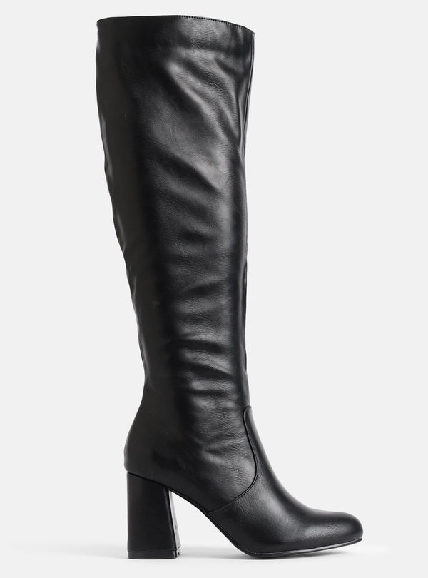 Dustin Knee High Boot Black