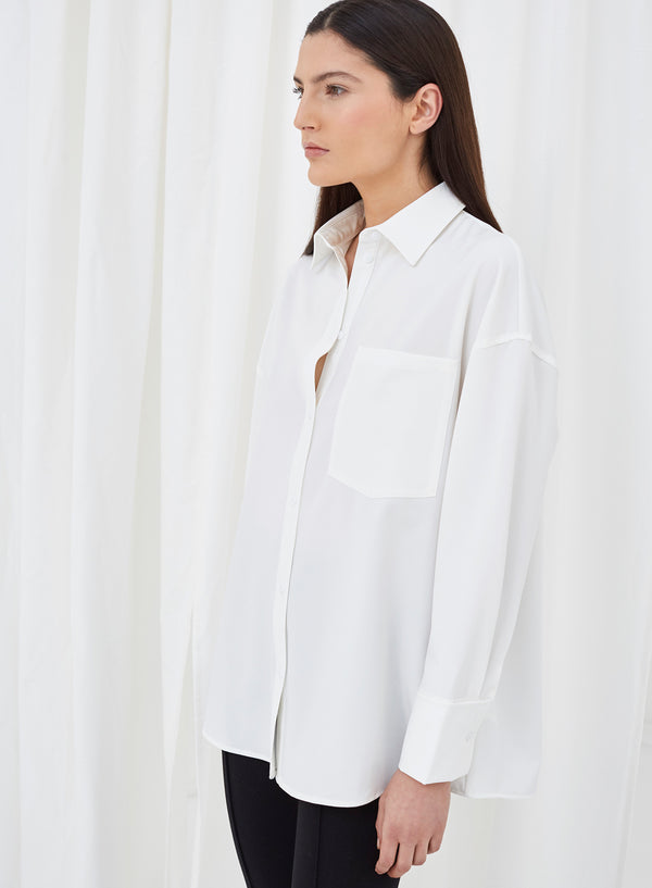 Flore Buttoned Shirt White
