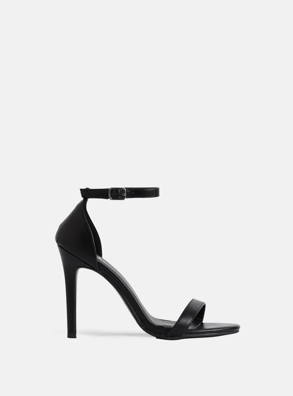 Jasmine Basic Heeled Sandal Black