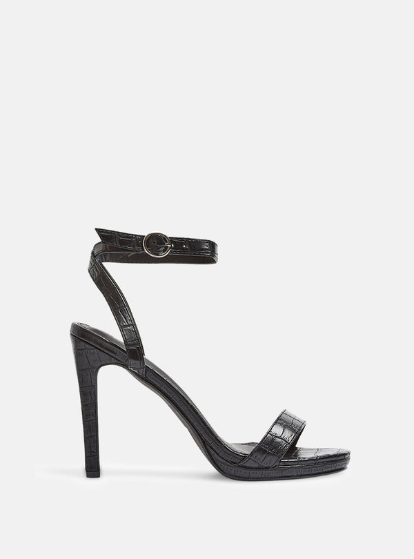 Melody Block Heel Sandal Black