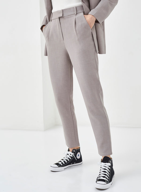 Rodin Straight Leg Pants Grey
