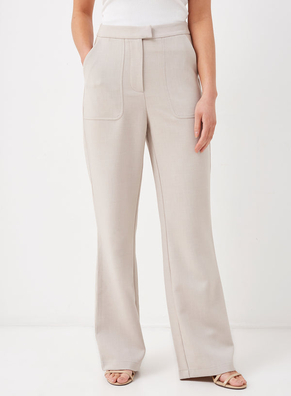 Skye Tailored Pants Light Grey