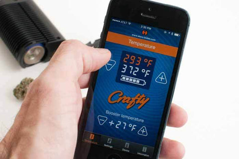 The Crafty Vaporizer Set With Working App Temperature Control