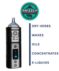 The Grizzly Guru All In One Portable and Discreet Handheld Vaporiser - NamasteVapes UK
