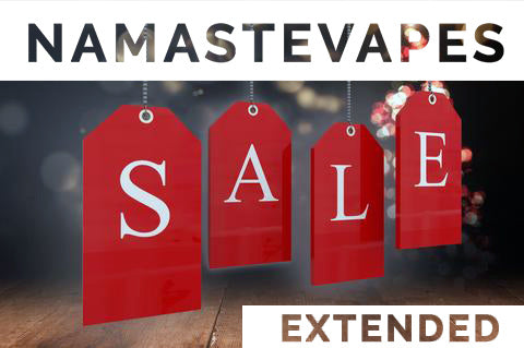 NamasteVapes Extended Sale Now On