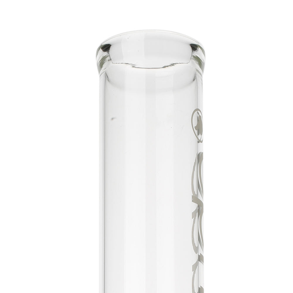 Lean Back Glass Bong Set Small mouthpiece
