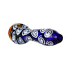 Spoon Pipe Honeycomb Blue Swirl