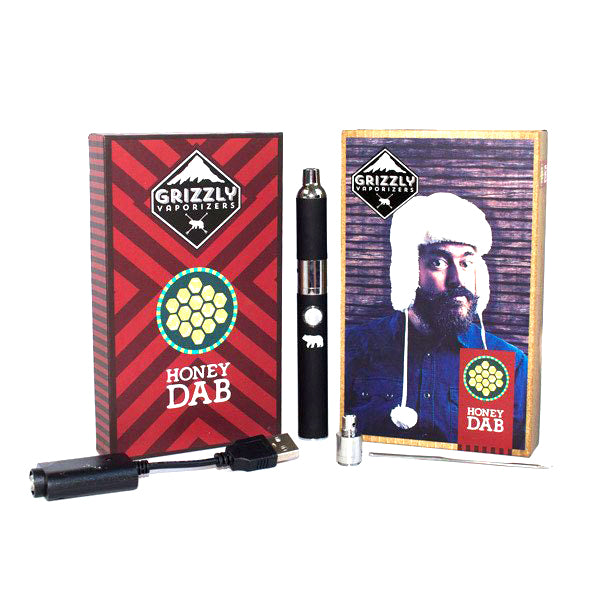 Grizzly Honey Dab Pen Vaporizer Namaste Vapes UK
