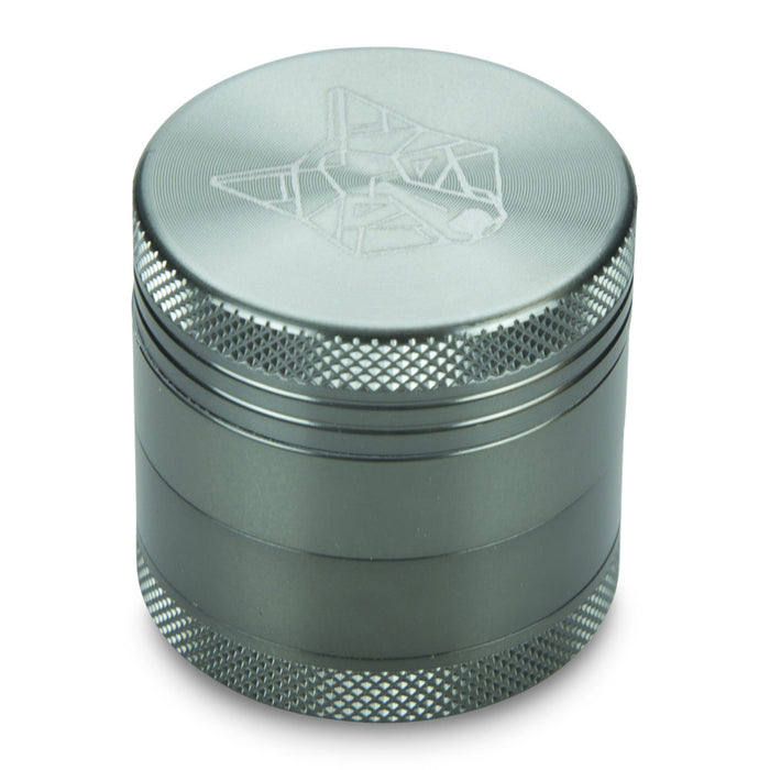 4 Part Piece The Wolf Pocket Aluminium Metal Grey Small Grinder