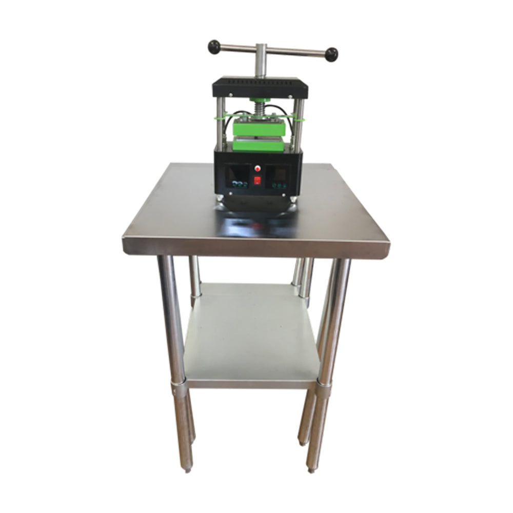RTP GOLD Series - Manual Twist Rosin Tech Heat Press scale