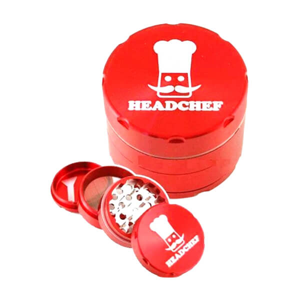 Head Chef Razor Grinder/Sifter 40mm Red