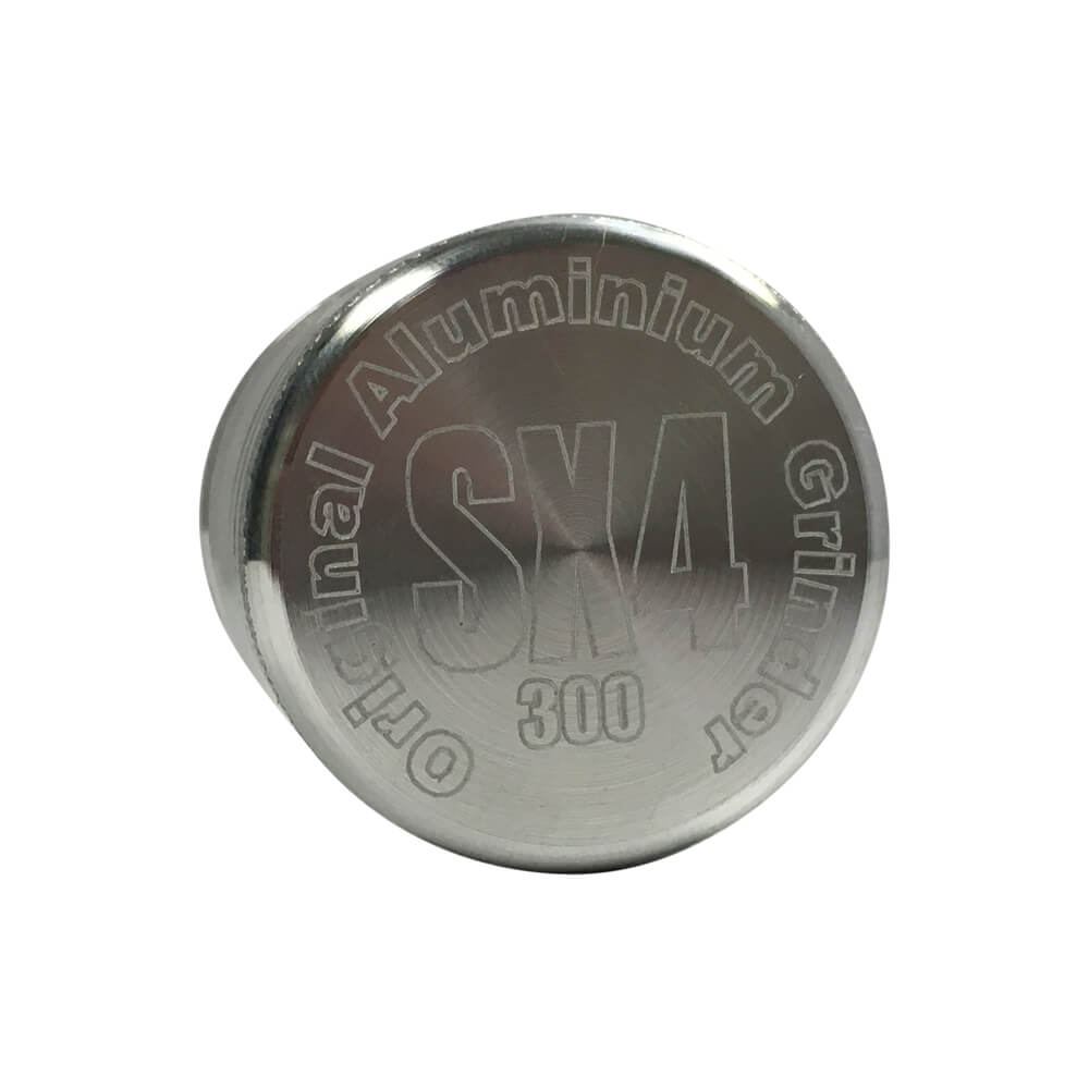 SX4 4 Part Grinder/Sifter Silver 56mm