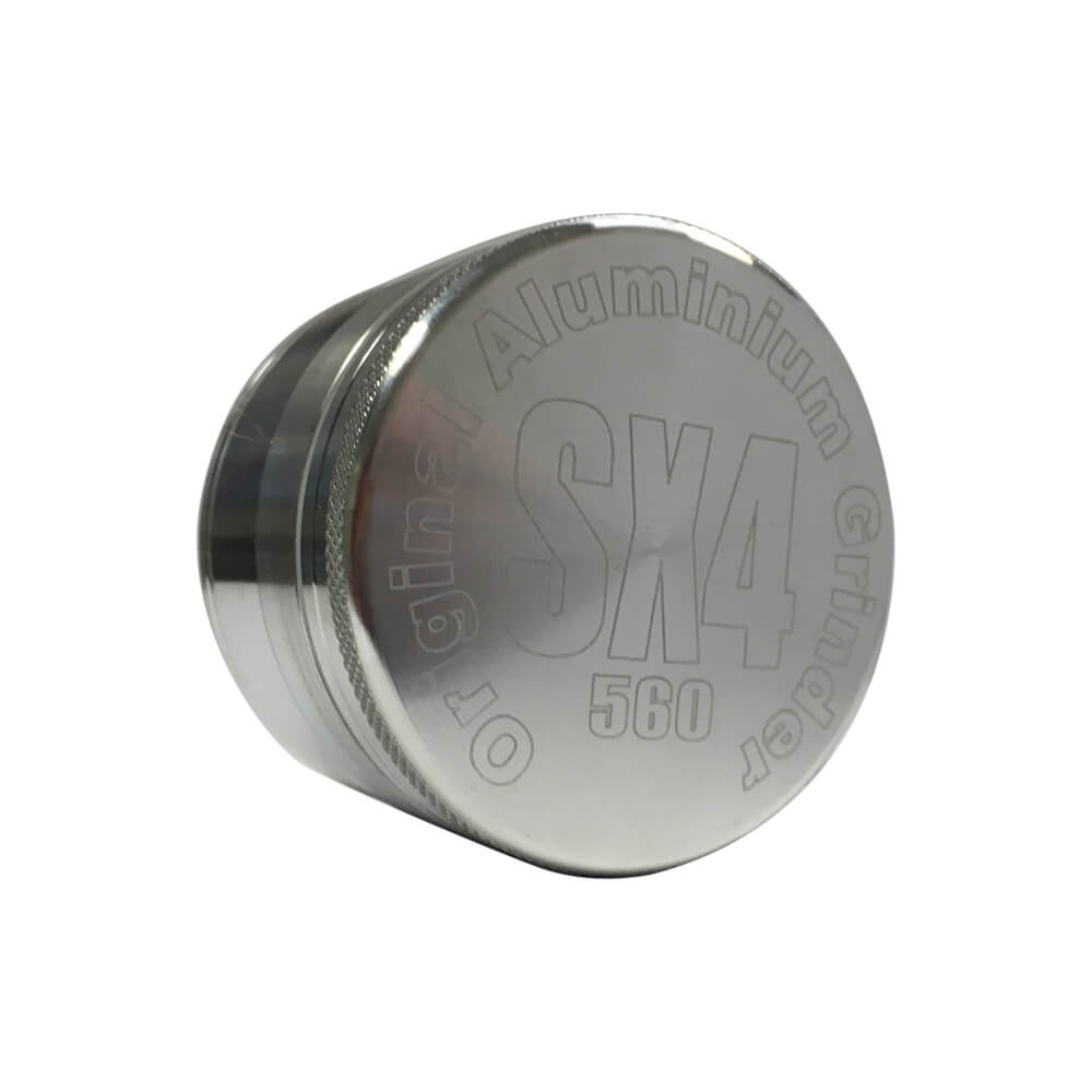 SX4 4 Part Grinder/Sifter Silver 40mm
