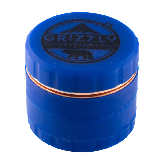 Grizzly Originals Silicone grinder with blade teeth Blue