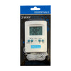 Essentials Digital 2 Way Thermometer Min Max Meter UK