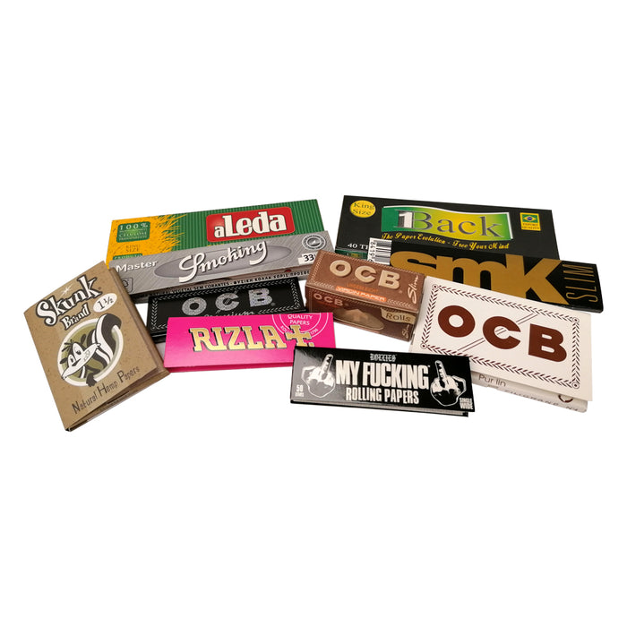 10 Mixed Rolling Papers