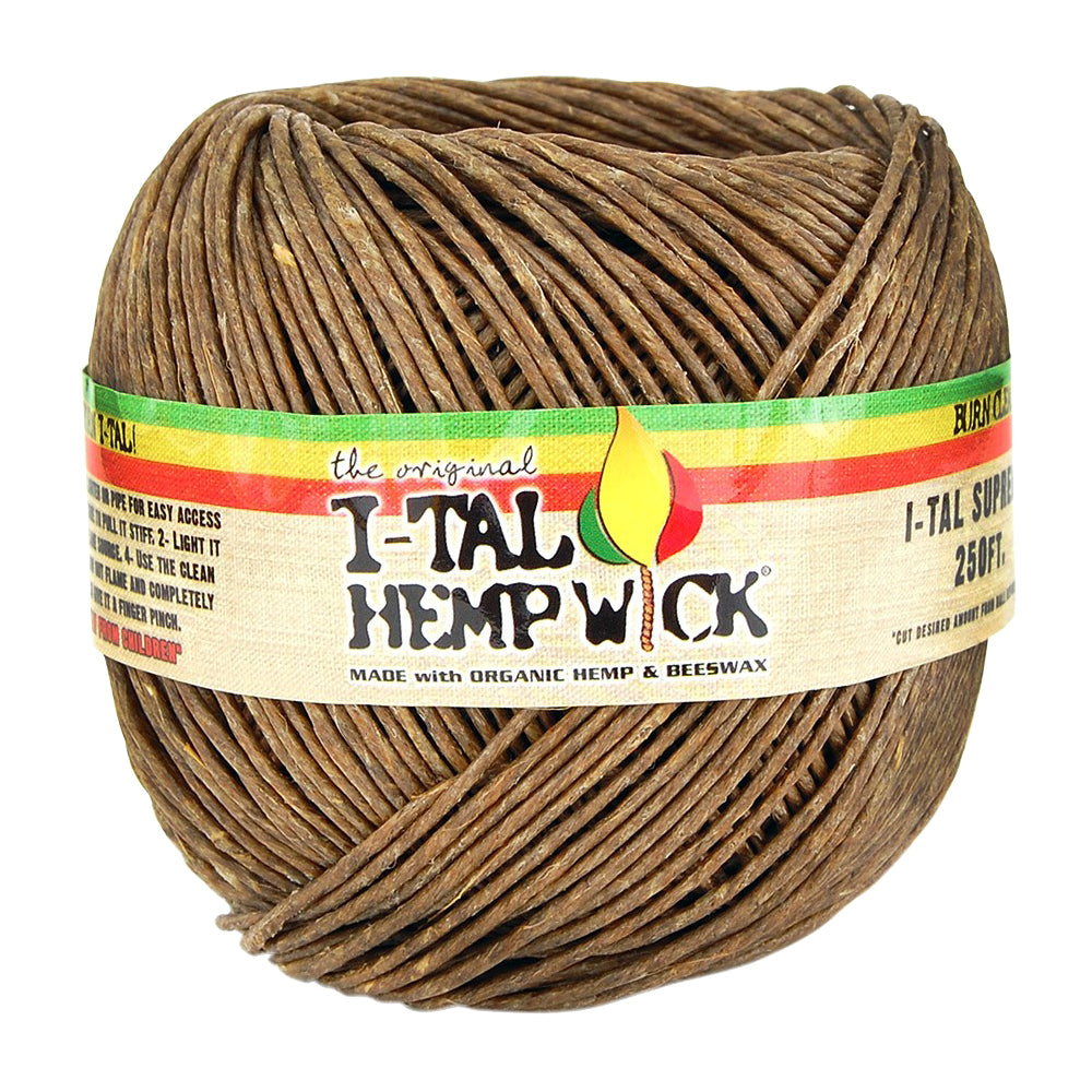 I-TAL Hemp Wicks Supreme 250ft Spool