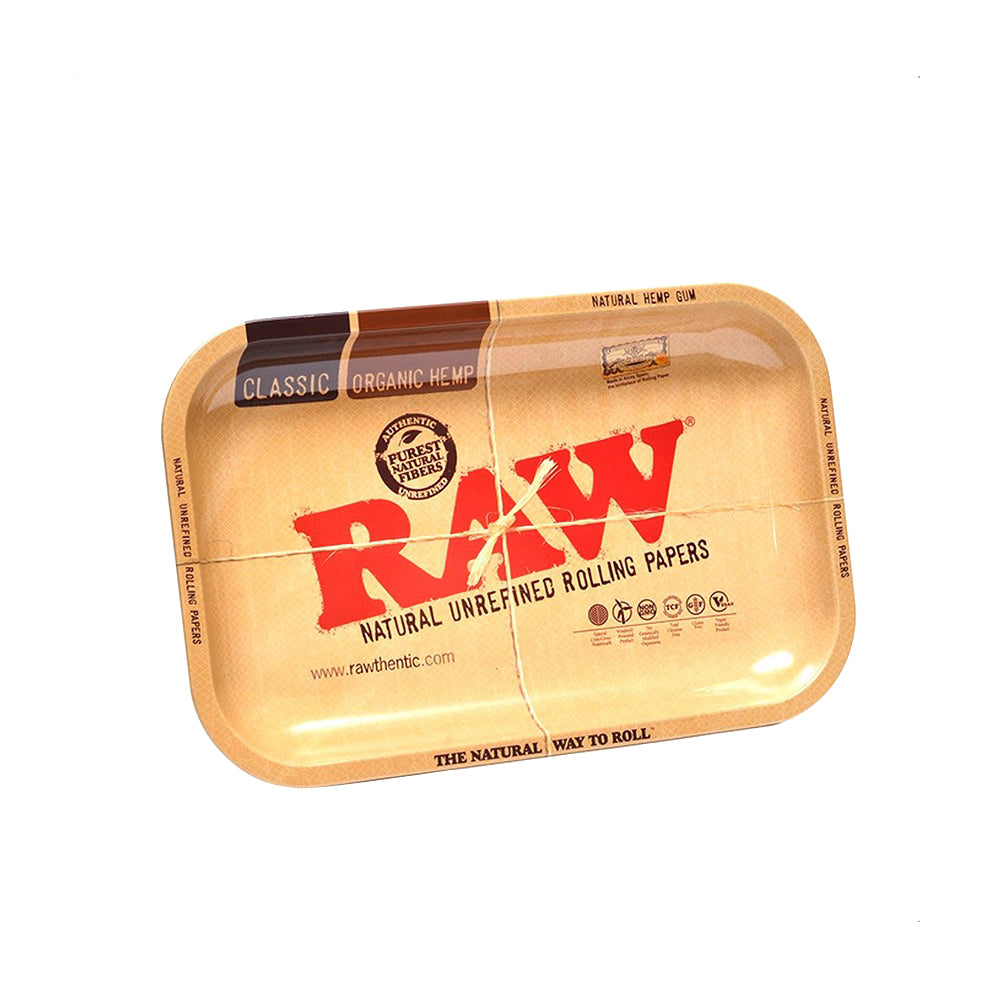 RAW Metal Rolling Trays Small
