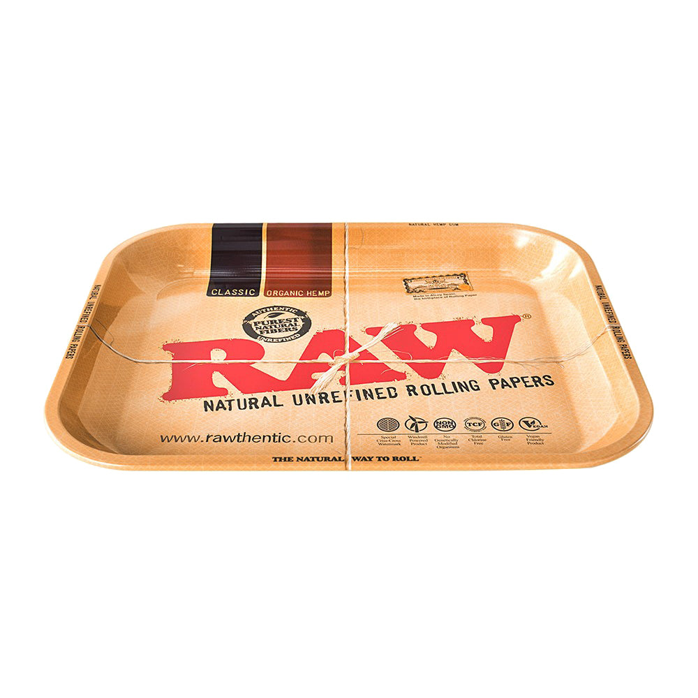 RAW Metal Rolling Trays XX Large Raw Rolling Tray