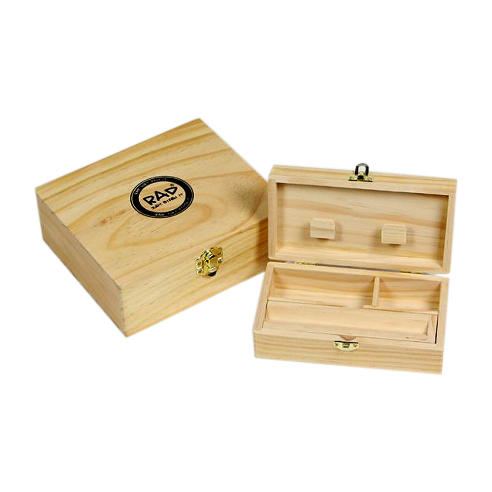 Wooden Rolling Box UK