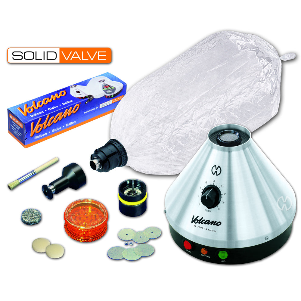 Volcano Classic with Solid Valve Set