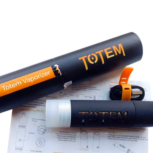 Totem Vaporizer with accessories