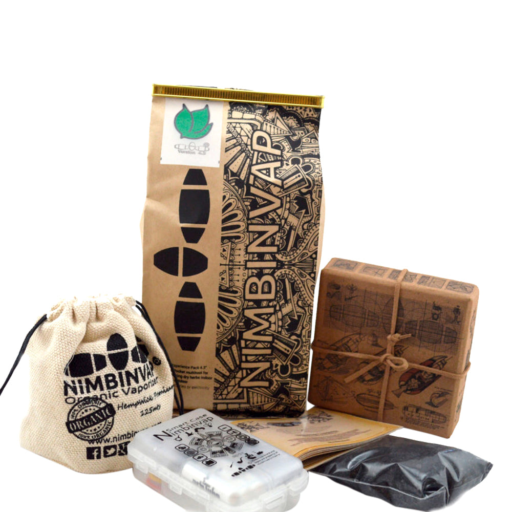 NimbinVap 4.3 Vaporizer Full Experience Pack with FREE NimbinVap 4.0 Wood Namaste Vapes UK
