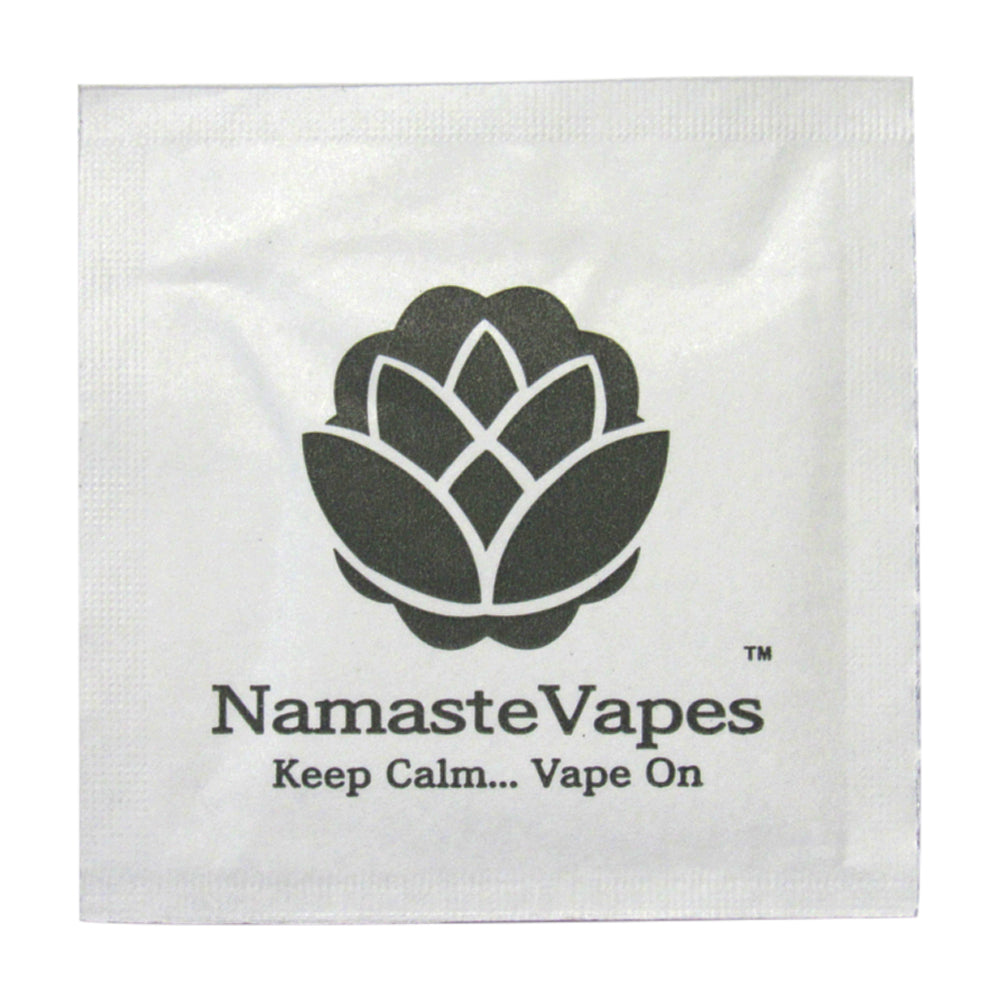 NamasteVapes Cleaning Wipes Single pack