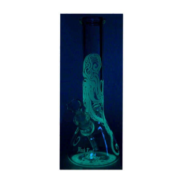 Near Dark 'Kraken' Flask Bong Ice Glow