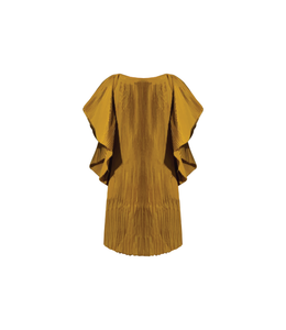 Vestido Pepen plisado a mano [Hand pleated Pepen dress] 02