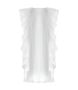 Vestido plisado Sbak' [Pleated dress] 01