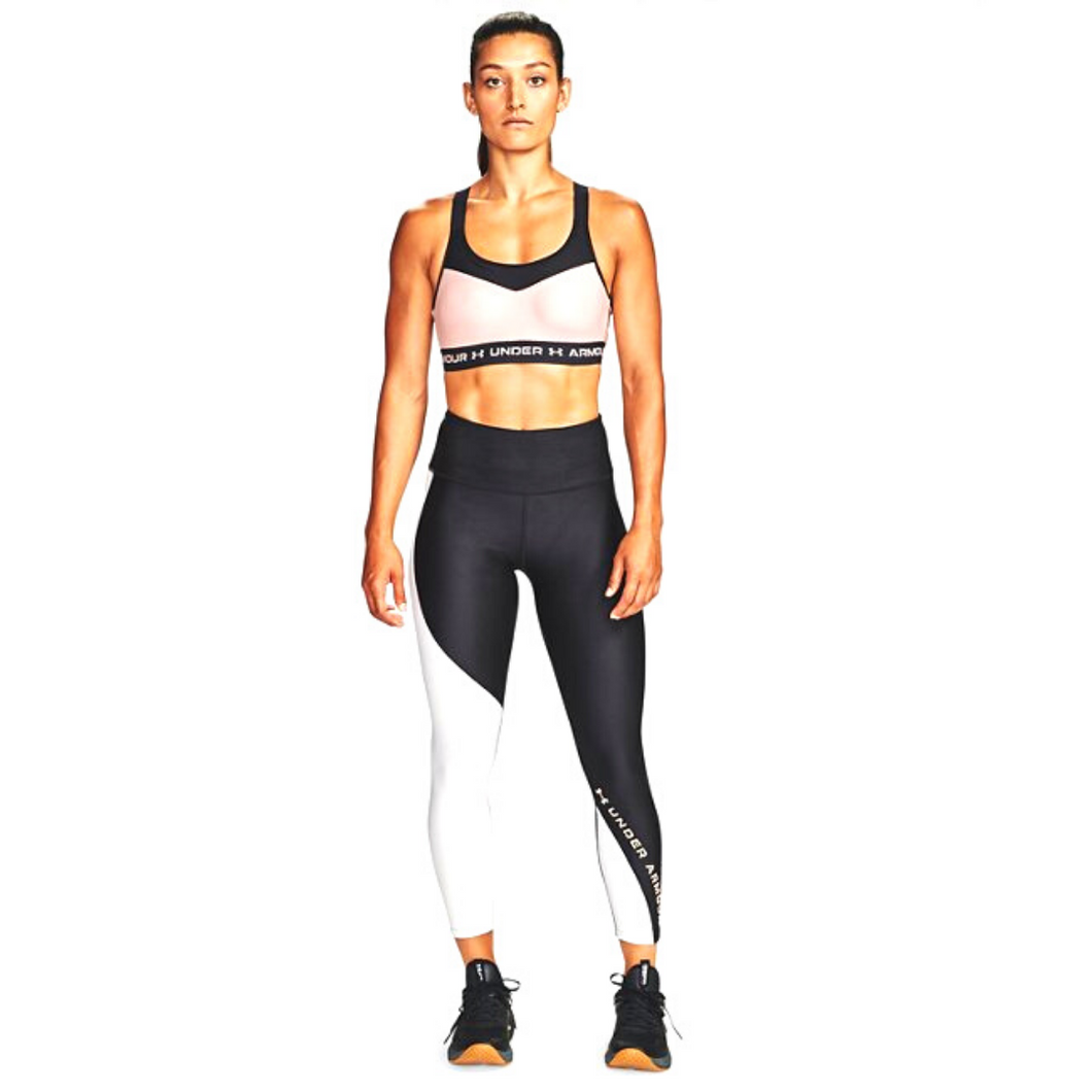 Leggings HeatGear® Armour Wordmark 7/8 da donna