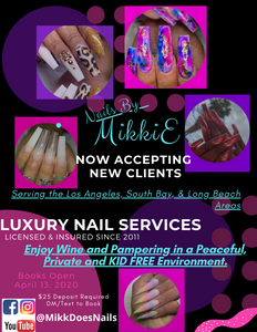 Nail Appointment Deposit - Los Angeles