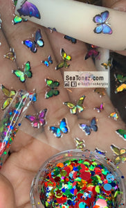 Rainbow Glitter / Butterfly Bundle