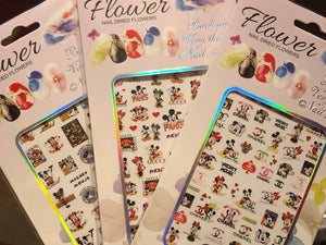 Designer Cartoon Sticker Bundle