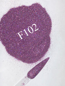Glitter F102 Fine Light Purple/ Lavender