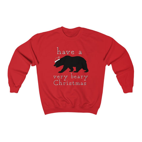 Have A Bear-y Christmas Crewneck Sweatshirt