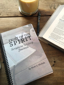 Scripture Writing Journal - Fruit of the Spirit