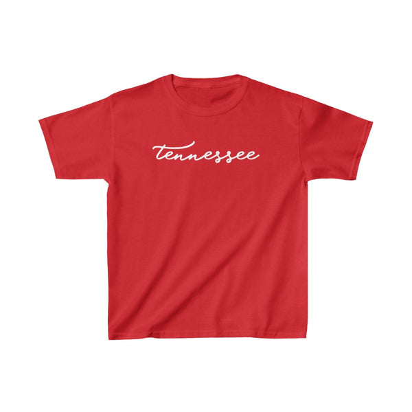 Tennessee Script Kid's Short Sleeve Tee