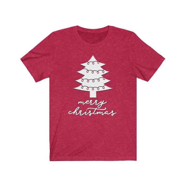 Merry Christmas Tree Short Sleeve Tee